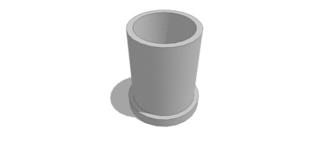 Бохирын цилиндер бетон хоолой/∅900/